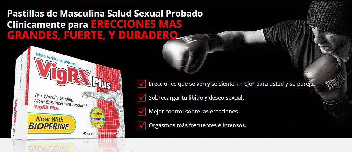 VigRx Plus: La mejor solucion en el mercado para mejorar tus erecciones.